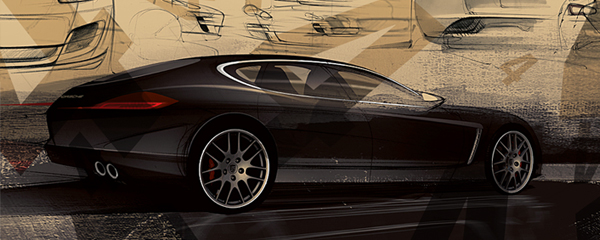 Porsche Panamera Screensaver